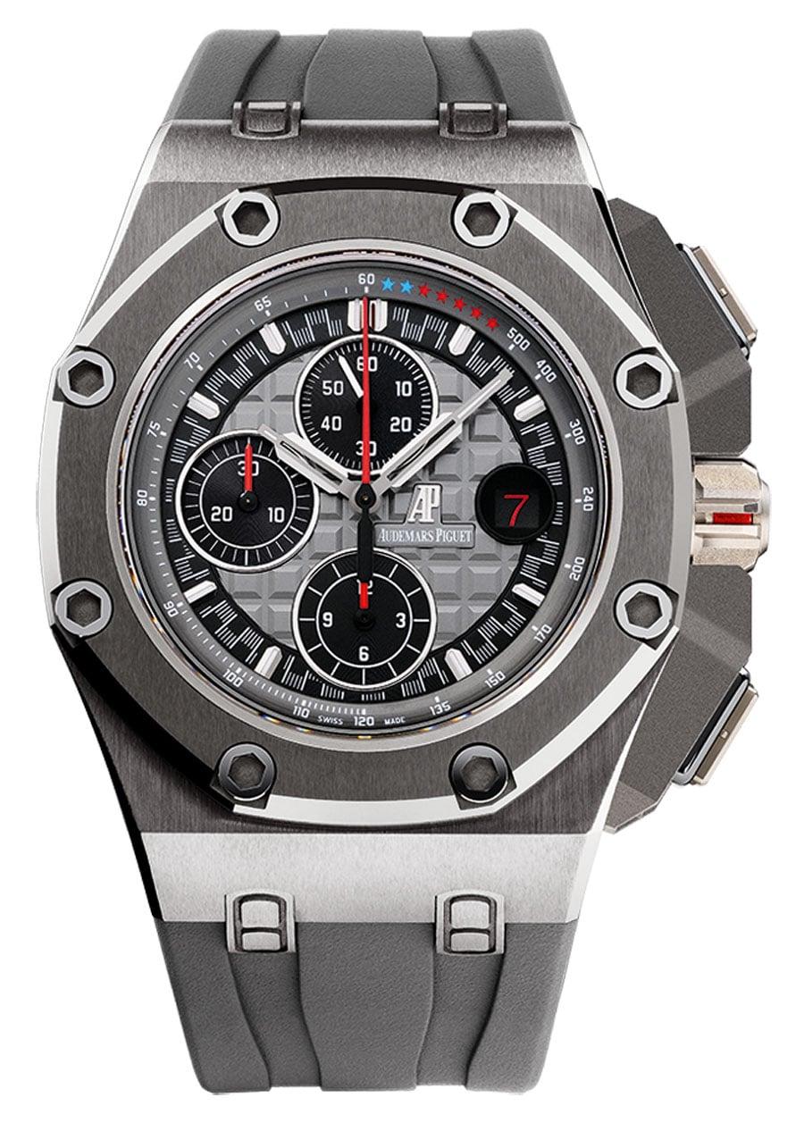 Von der Titan-Version der Schumi-Uhr gibt es 1.000 Stück