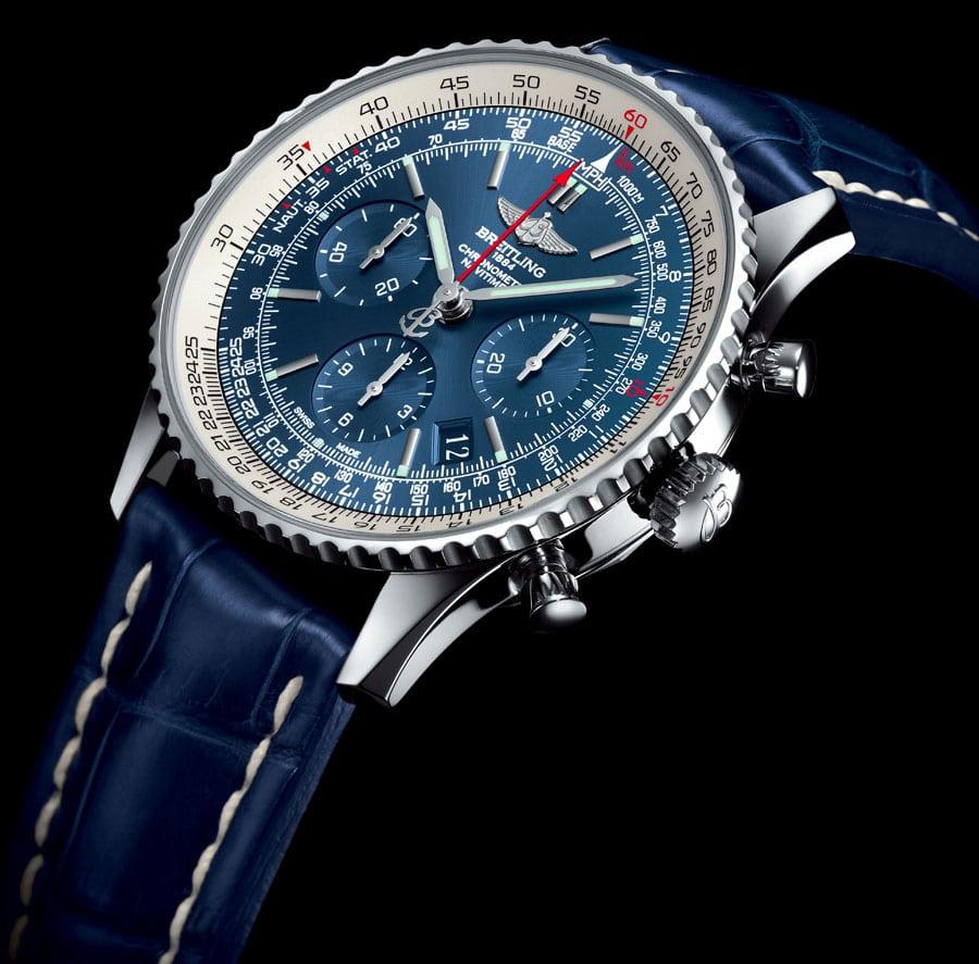 Limitiert auf 500 Stück: die Breitling Navitimer Blue Sky 60th Anniversary Limited Edition