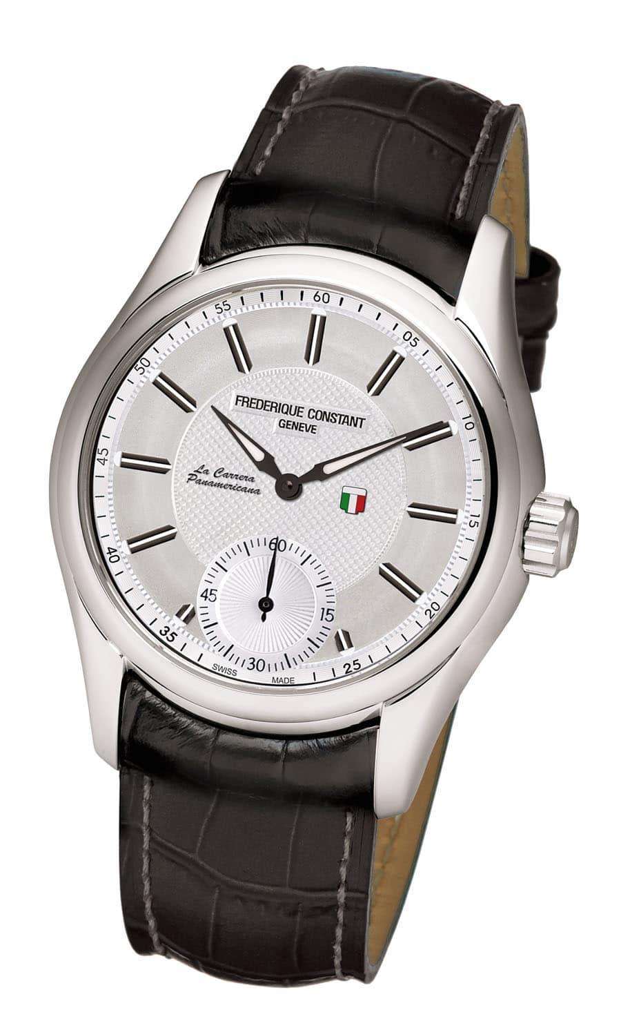 Uhr zum Autorennen: die La Carrera Panamericana von Frédérique Constant