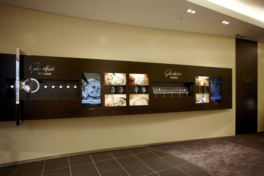 Tradition trifft Moderne im neuen Glashütte-Original-Store