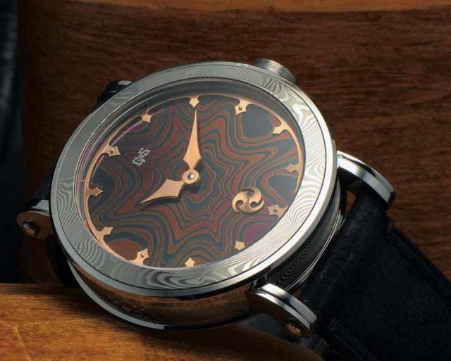Uhren aus Damaszener Stahl: die Nordic Seasonds von GoS Watches