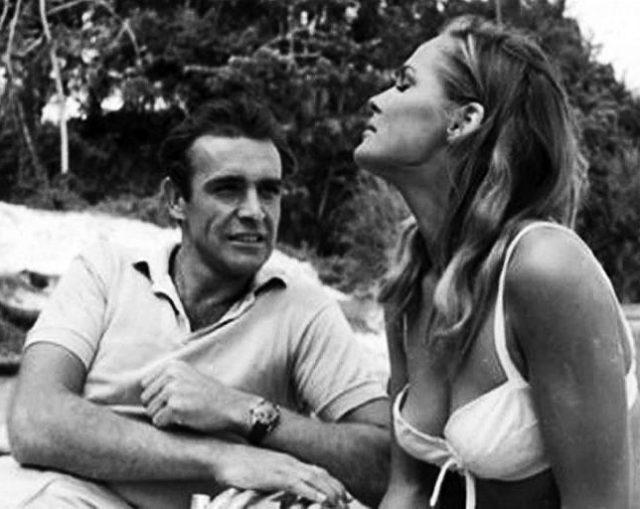 "Sean Connery alias James Bond in ""Dr. No"""
