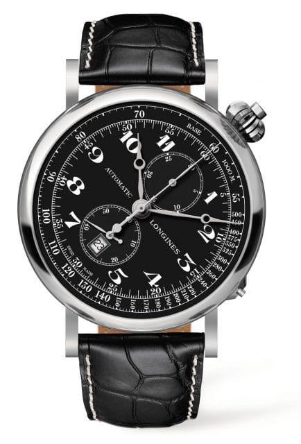 Mit historischem Vorbild: die Avigation Watch Type A-7 von Longines