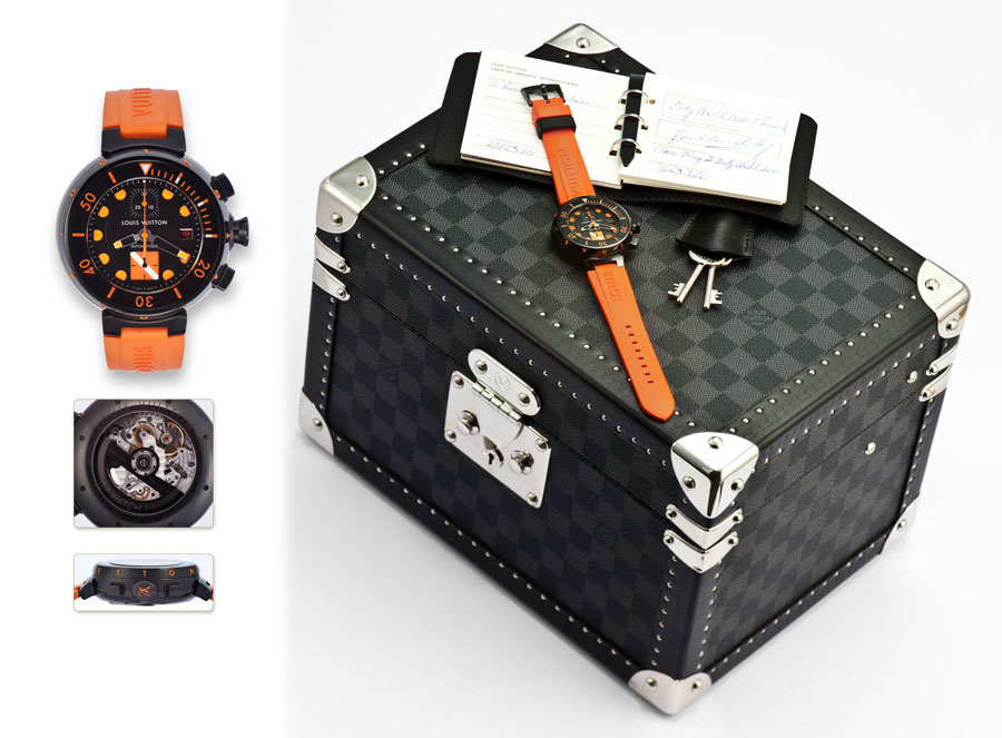Lot 118: Louis Vuitton Tambour Only Watch 2011