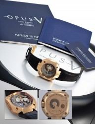 Lot 323: Harry Winston Opus V No. 36/45