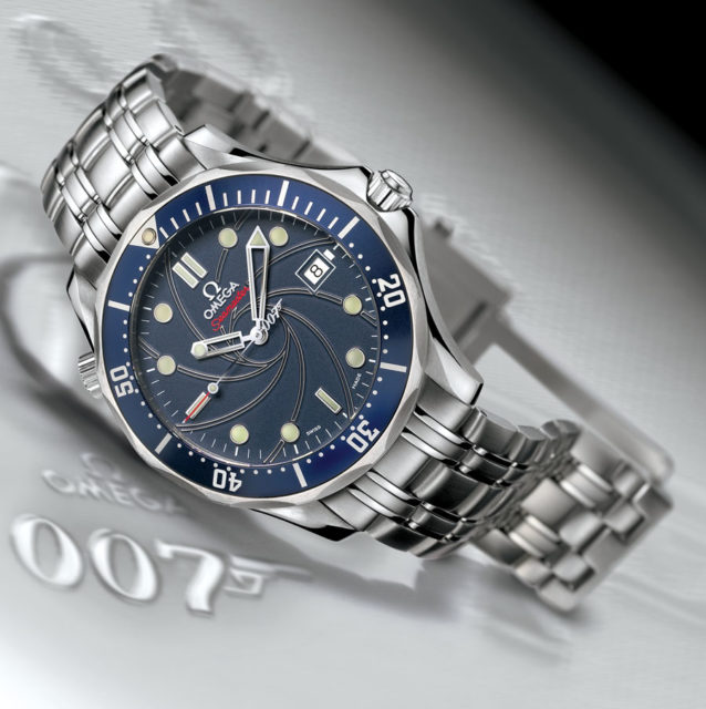 Omega Seamaster Bond limited series 2006