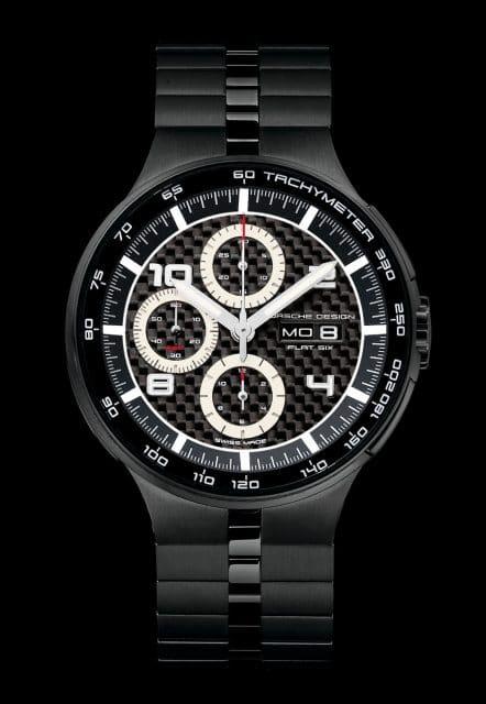 Facelift von Porsche Design: der P'6360 Flat Six Automatic Chronograph