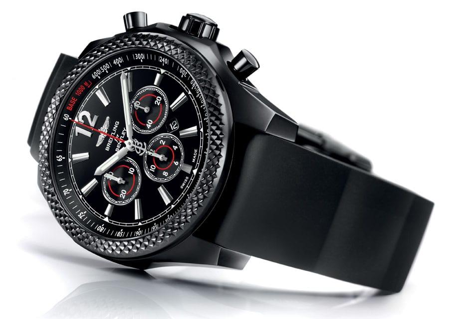 Rennsportaffin: die Breitling for Bentley Barnato 42 Midnight Carbon