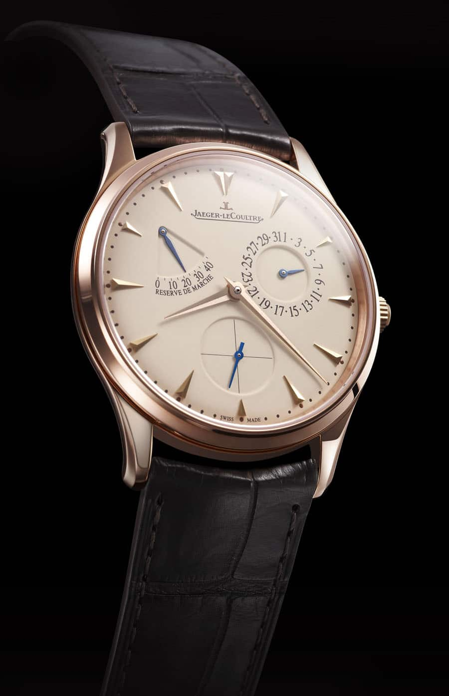 JLC Master UltraThin ReserveDeMarche Rotgold