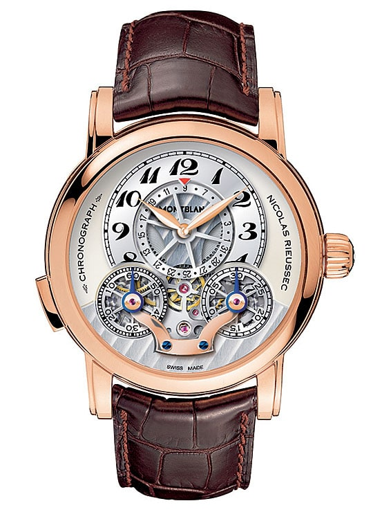 Montblanc Nicolas Rieussec Chronograph Open Date (Rotgold, 26.800 Euro)