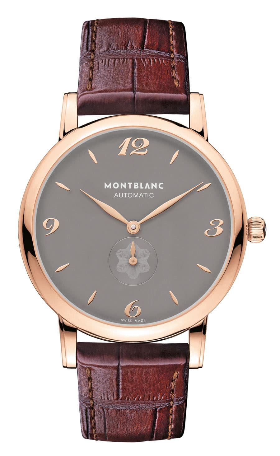 Schlicht und elegant: die Star Classique Automatic von Montblanc