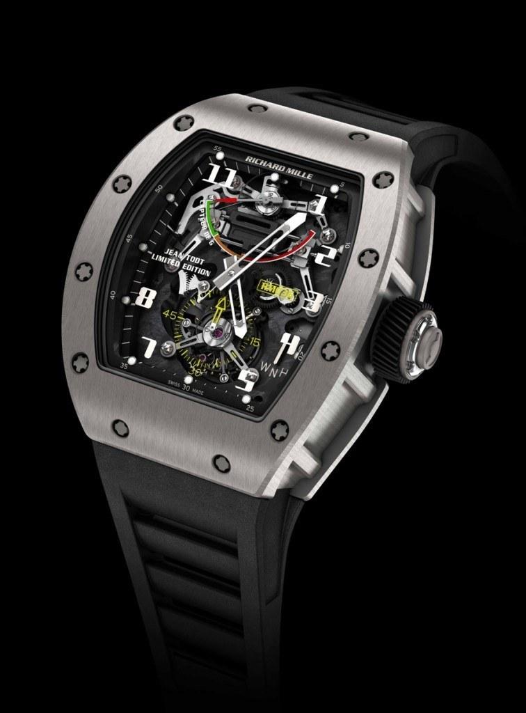 Die RM 036 Tourbillon G-Sensor Jean Todt von Richard Mille
