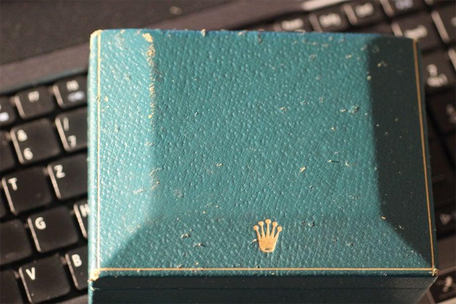 Rolex Box Datejust Referenz 1603