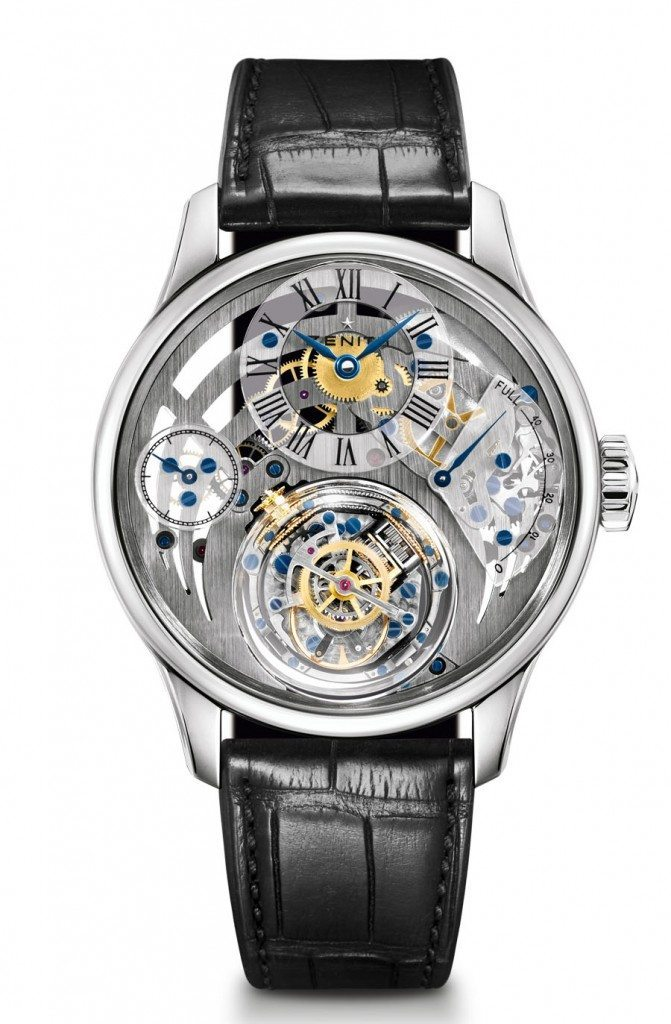 Die Academy Christophe Colomb Tribute to Charles Fleck von Zenith