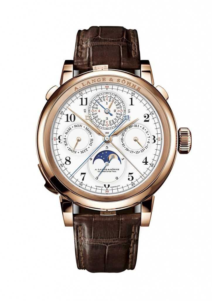 Komplizierteste Lange-Uhr aller Zeiten: die Grand Complication