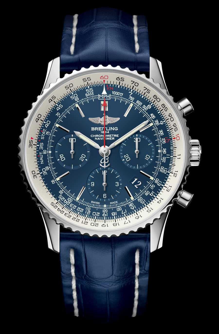 Zum 60. Jahrestag: der Breitling Navitimer Blue Sky 60th Anniversary Limited