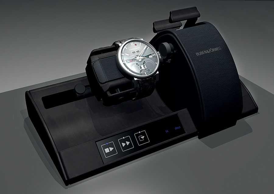 Elektronisches Aufzugsgerät für Handaufzugsuhren: der Time Mover Handwound