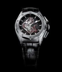 Chronograph, Datum, Gangreserve: der Challenge R50 Chrono High Fidelity von Custos