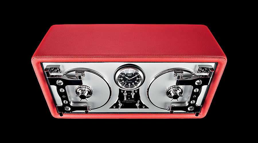 Geschlossen präsentiert sich der Uhrenbeweger Colosimo-Doppeltürer als Safe