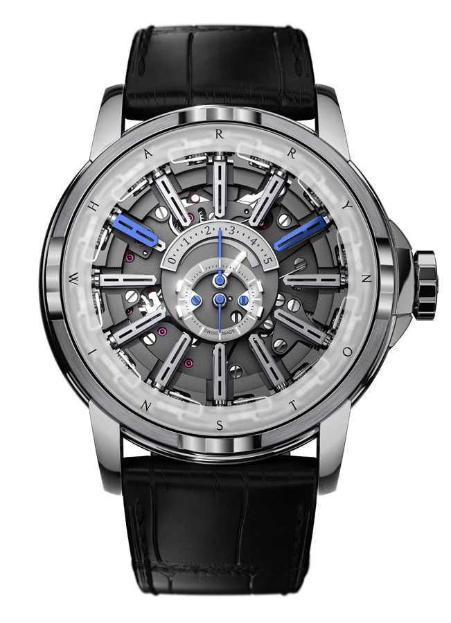 Gehört ab sofort zur Swatch Group: die Uhren- und Schmuckmarke Harry Winston