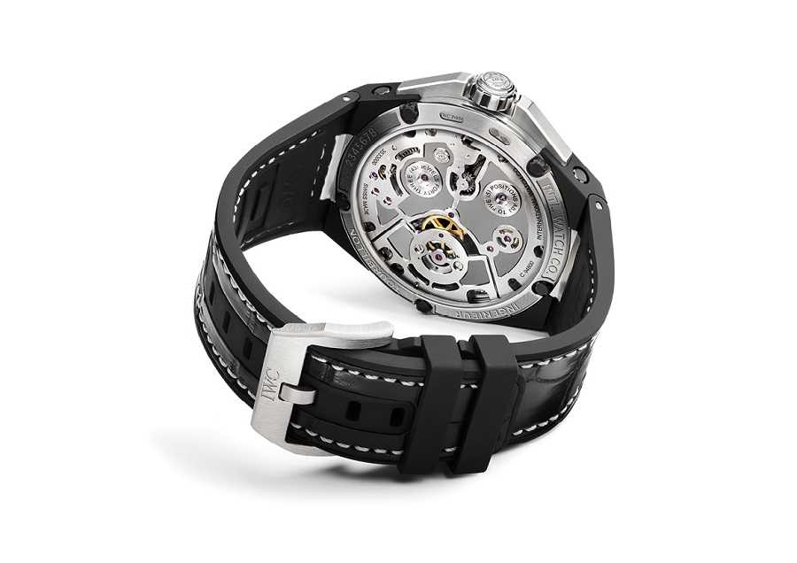 IWC Ingenieur Constant-Force Tourbillon Back