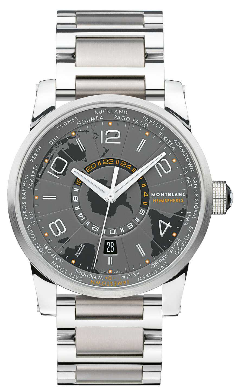 ...und die TimeWalker World-Time Southern Hemisphere
