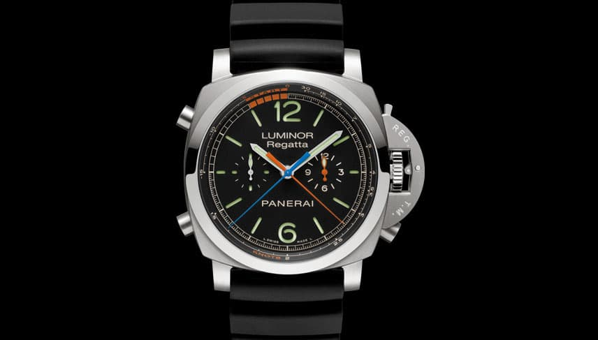Panerai Luminor 1950 Regatta 3 Days Chrono Flyback Titanio Front
