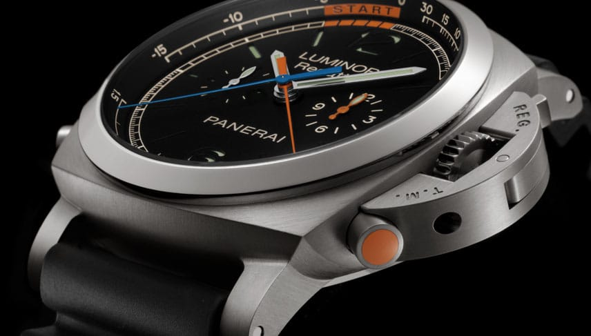 Die Panerai Luminor 1950 Regatta 3 Days Chrono Flyback Titanio