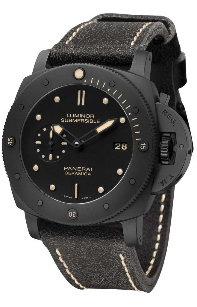 Panerai Submersible 1950 3 Days Automatic CeramicaPanerai Submersible 1950 3 Days Automatic Ceramica