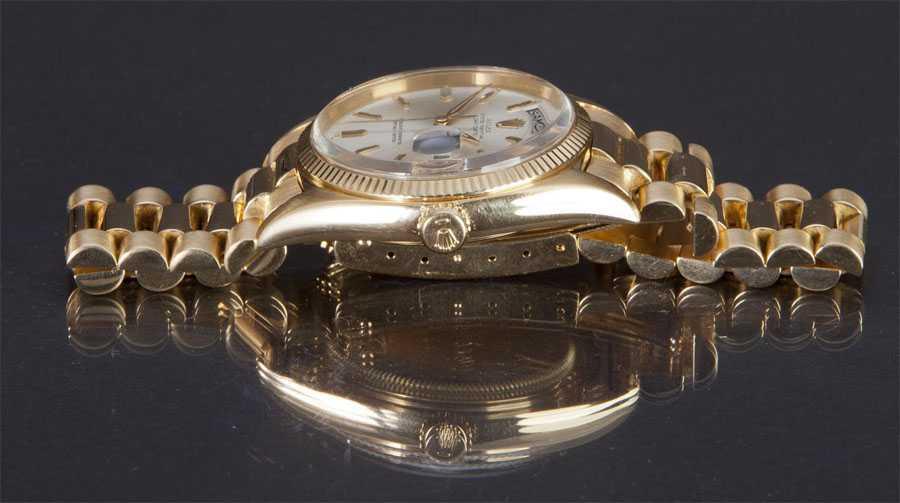 Rolex Day Date Referenz 1803 Seitenansicht