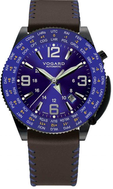 Vogard hat sein Patent des Weltzeituhren-Mechanismus exklusiv an IWC verkauft.