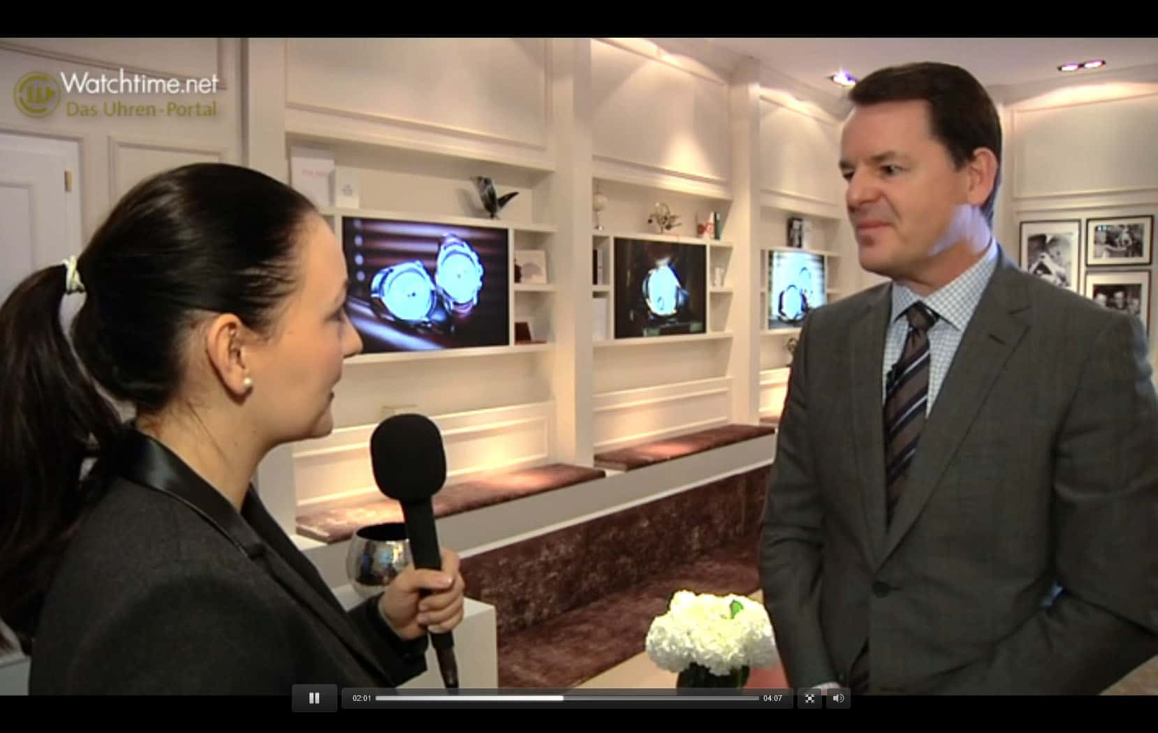 Baume & Mercier: Video-Interview SIHH 2014