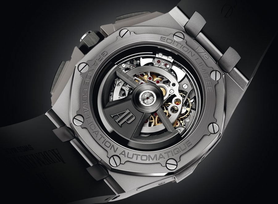 Audemars Piguet Royal Oak Offshore Grande Complication back