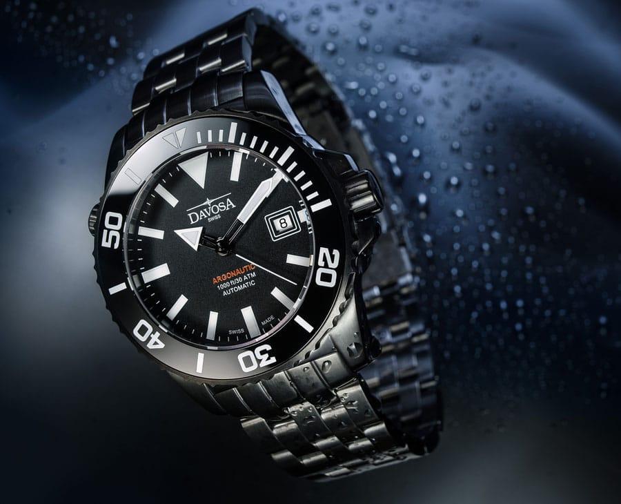 Hält bis 300 Meter wasserdicht: die Argonautic Gun von Davosa