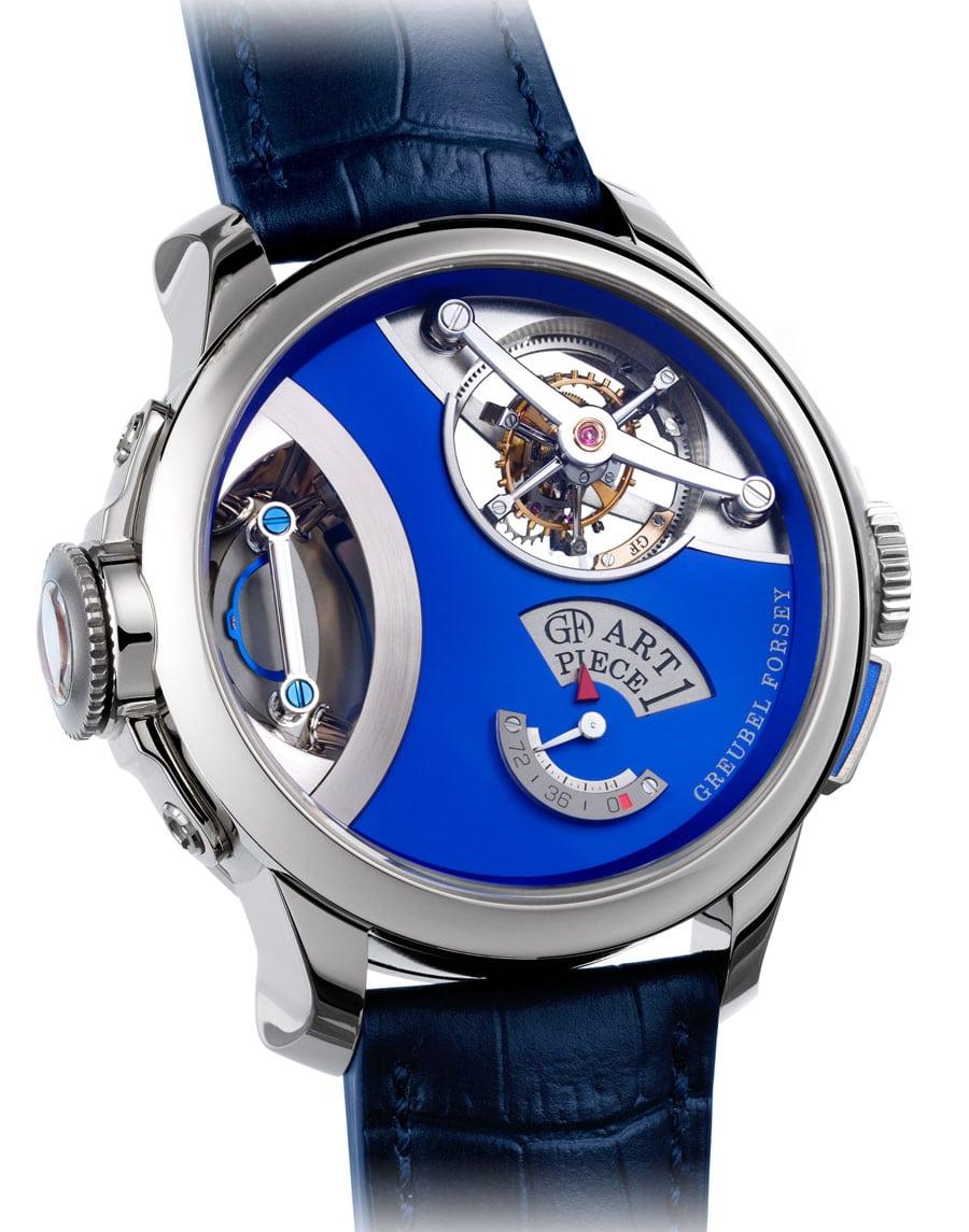 Kunst in der Uhr: die Art Piece 1 von Greubel Forsey
