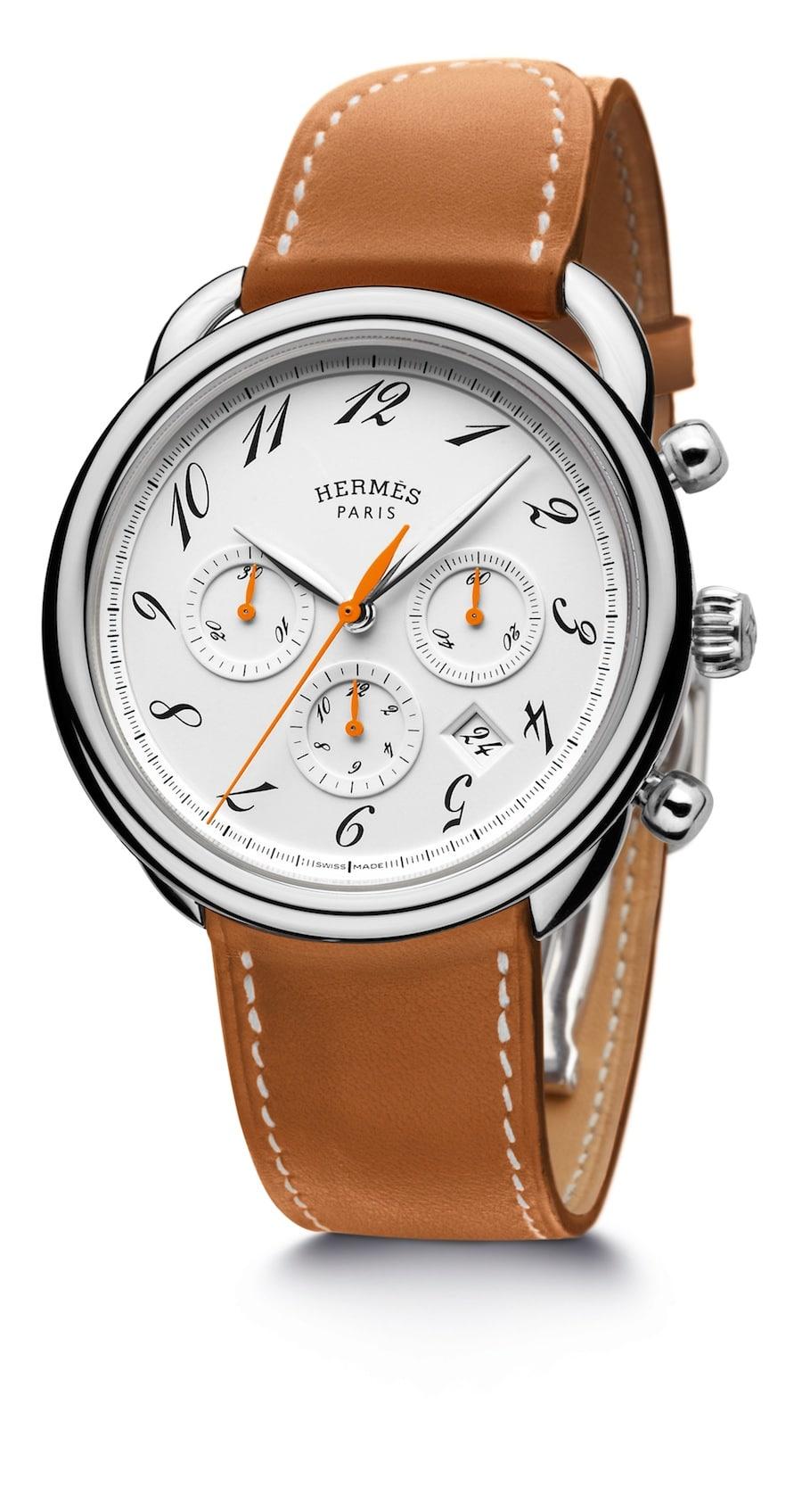Hermès Arceau Chronograph Bridon