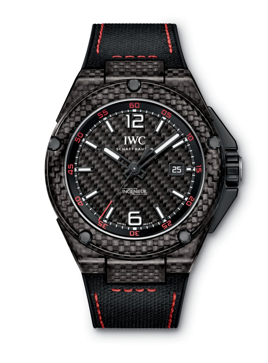 IWC Ingenieur Automatic Carbon Performance rot