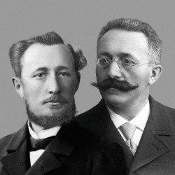 Die Gründer Jules-Louis Audemars und Edward-Auguste Piguet
