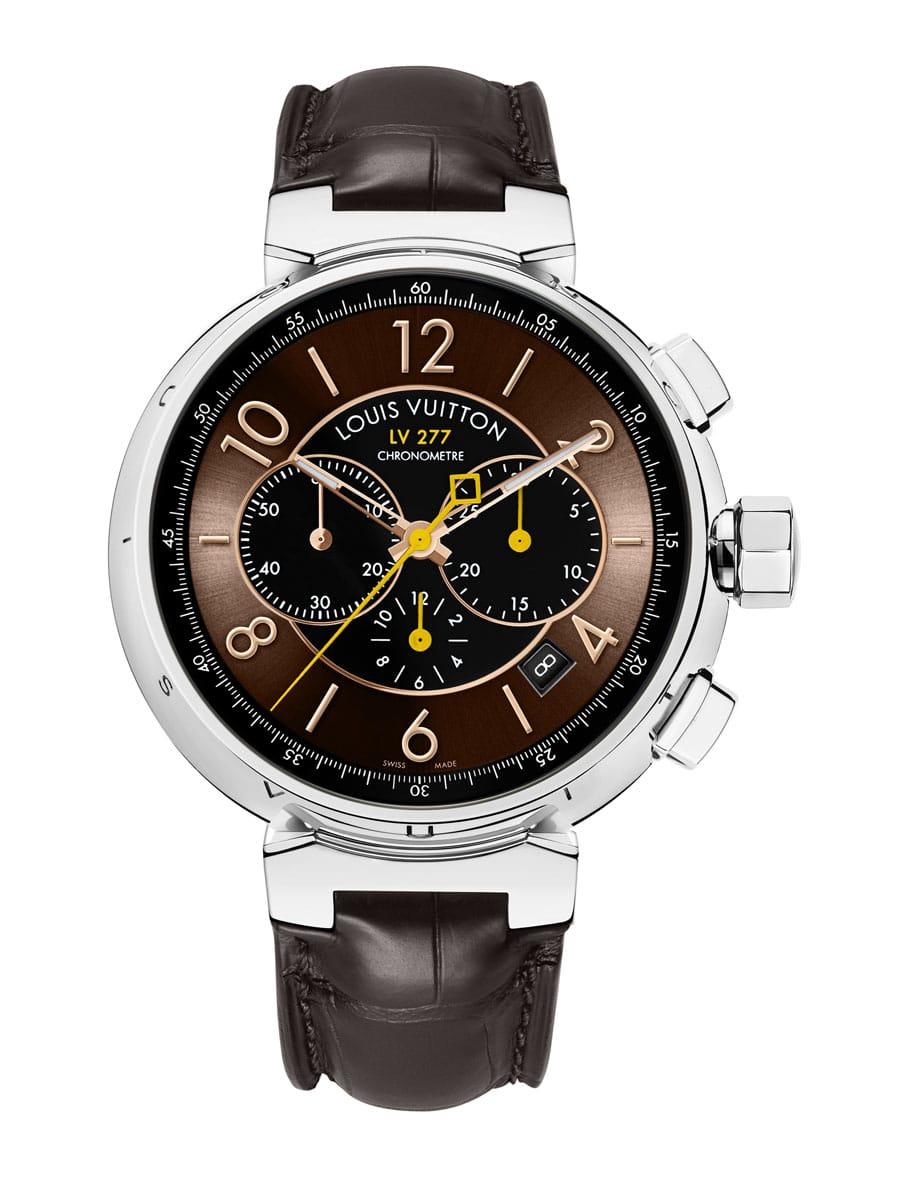 Der neue Tambour LV 277 Automatic Chronograph von Louis Vuitton