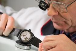 Wempe-Uhrmacher beim Supertest