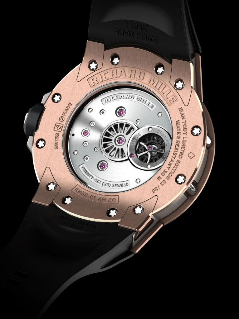 Tourbillon RM 58-01 World Timer Jean Todt Limited Edition