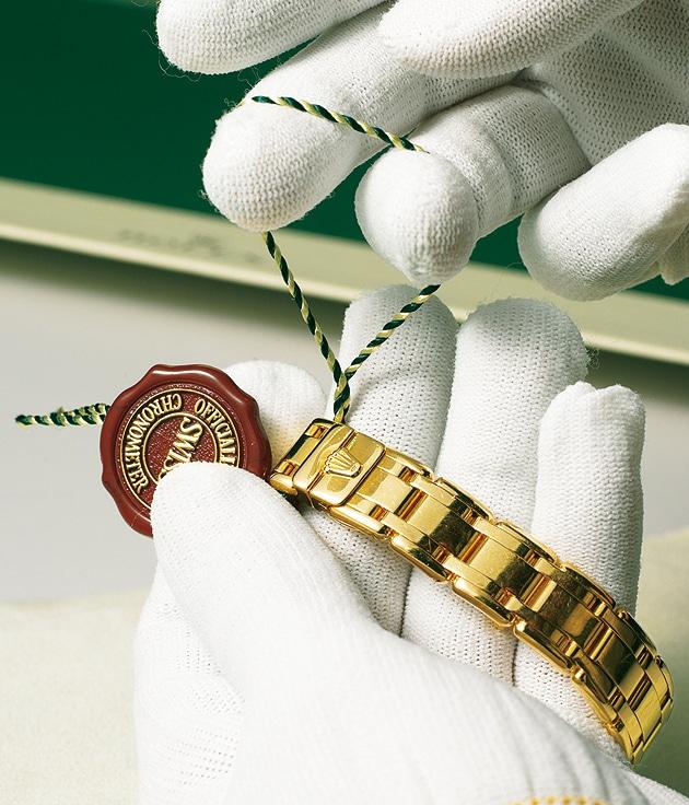 Rolex stellt in Planles-Ouates nicht nur seine Gehäuse und Armbänder selbst her, sondern auch seine eigenen Goldlegierungen