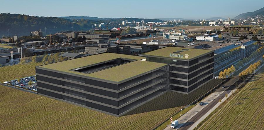 Simulation des künftigen Komplexes Rolex VII, der 2012 fertiggestellt sein soll