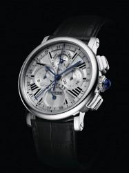 Die Rotonde de Cartier Quantième Perpétuel Chronographe