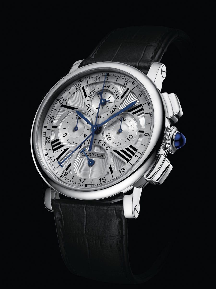 Rotonde de Cartier Quantième Perpétuel Chronographe