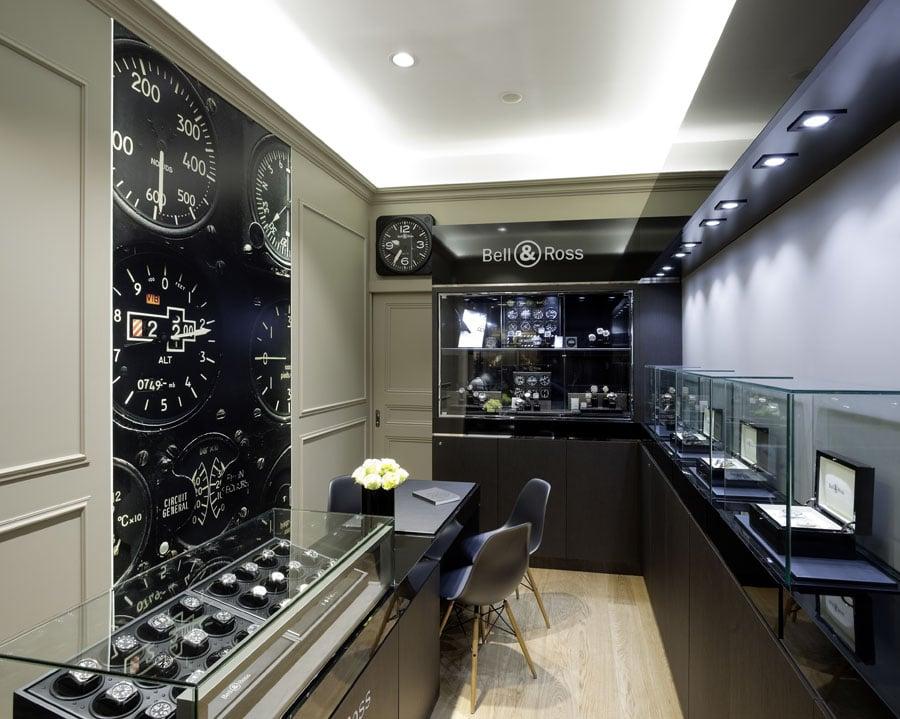 Die neue Bell & Ross Boutique in Wien