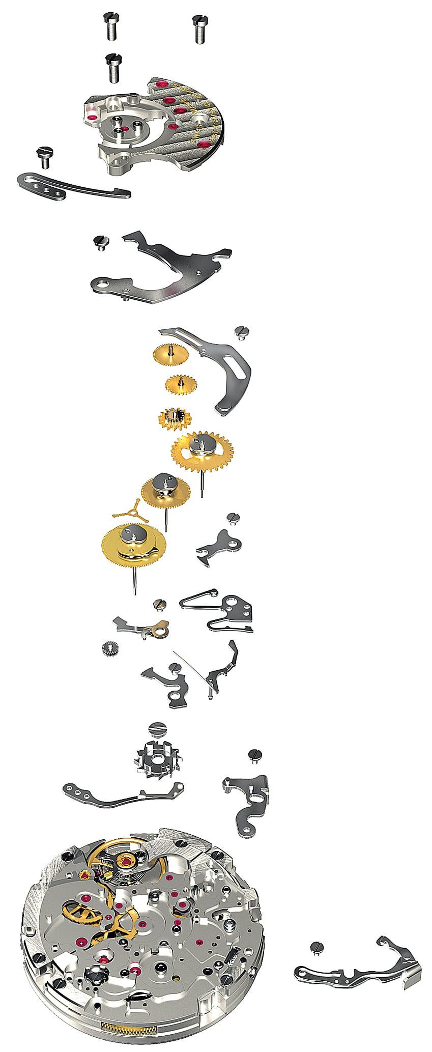 Das erste eigene Werk: Breitlings Chronographenkaliber 01