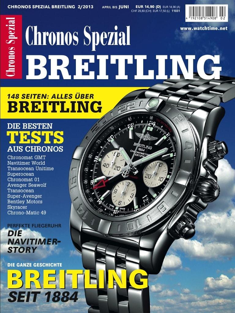 Seit heute am Kiosk: das Chronos Spezial Breitling