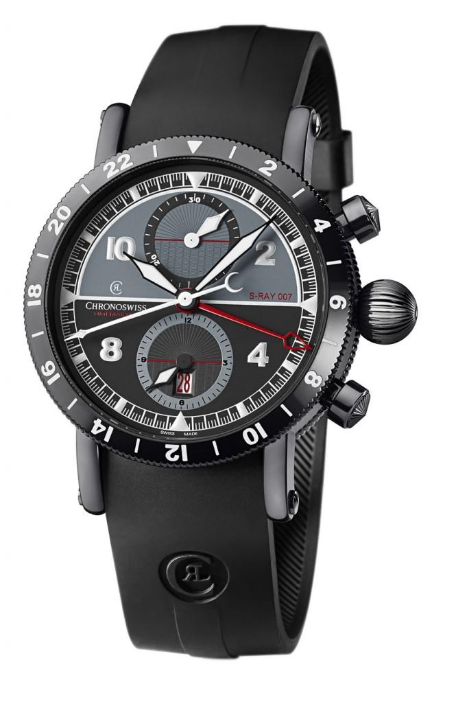 Limitiert auf 180 Stück: die Chronoswiss Timemaster GMT S-RAY  007