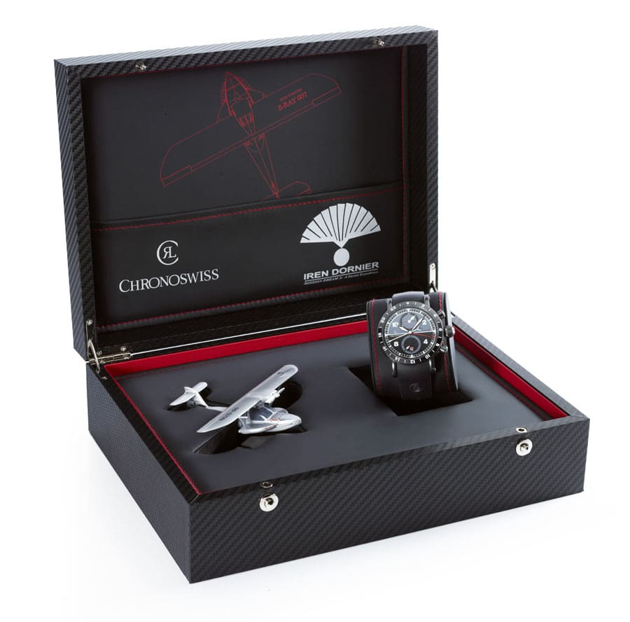 Chronoswiss Timemaster GMT SRAY 007 Box